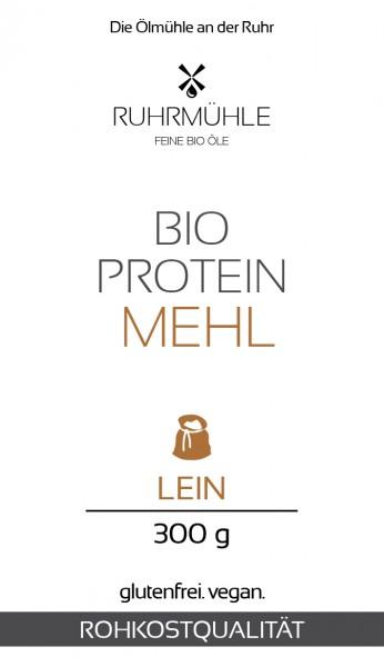 Bio Protein Lein-Mehl 300 g (DE-ÖKO-037) teilentölt