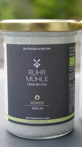 Bio Kokosöl 400ml (DE-ÖKO-037)